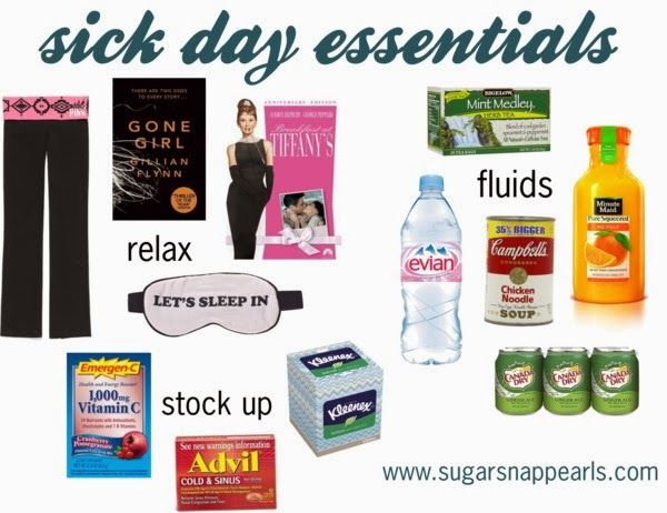 Sick Day Essentials...the mint medley was my best friend when I was super sick recently.....it's so good