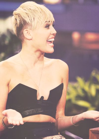 miley cyrus she's a little crazy but i love her