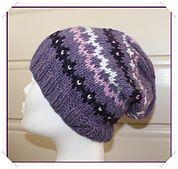 Olga-hat pattern by Guri Østereng Halvorsen
