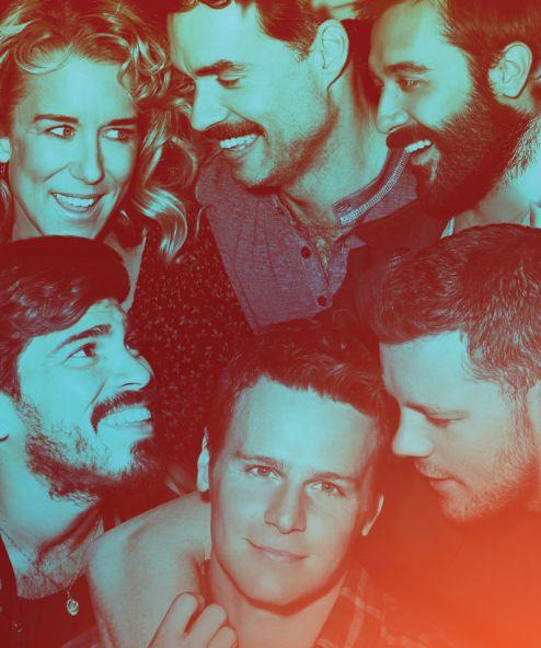 Looking HBO Cast: Jonathan Groff, Russell Tovey, Murray Bartlett, Frankie J. Alvarez, Raul Castillo, Lauren Weedman.