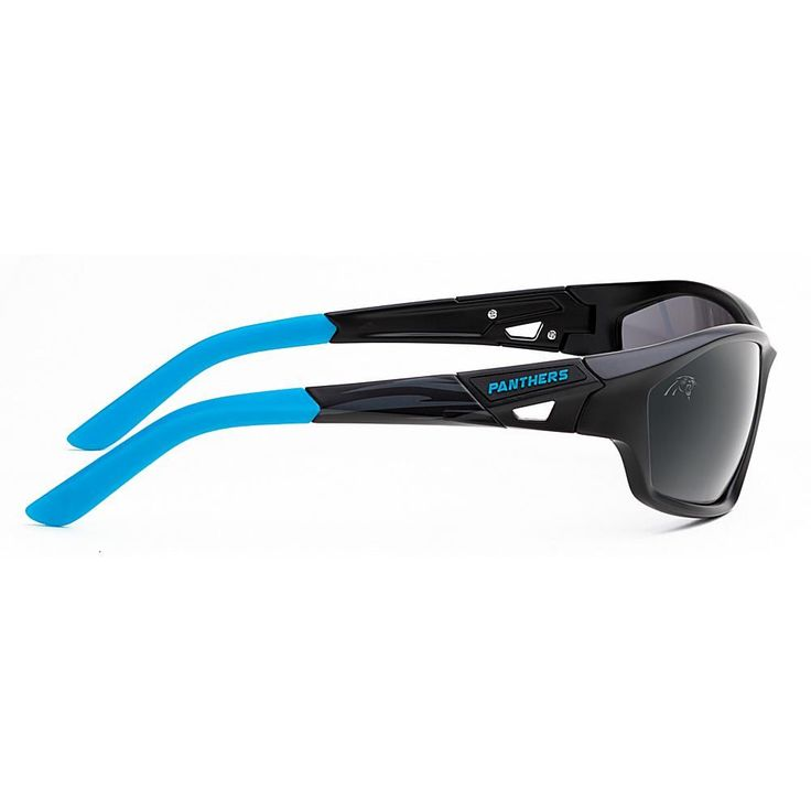 "Officially Licensed NFL ""Lateral"" Sunglasses with 360-Degree Bendable Arm Technology by Eye Ojo - Panthers"