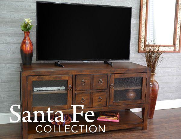 Santa Fe Furniture Collection, Santa Fe Rustic Furniture Collection