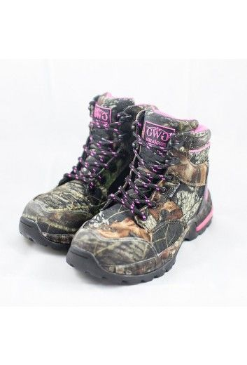 "Huntress 6"" Boot Camo - Non-Insulated 
