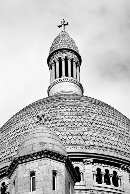 Sacre coeur. Paris. ©Charlotte Olsson