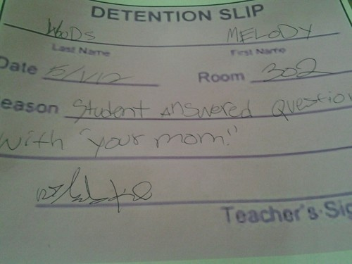 12 Hilarious Detention Slips | SMOSH