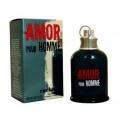Amor Pour Homme is een kruidig, houtig parfum met als topnoten bergamot, mandarijn en thee. Hartnoten: roos, kardemom en kruiden. Basisnoten: vetiver, bezoe, tonkaboon en rozenhout