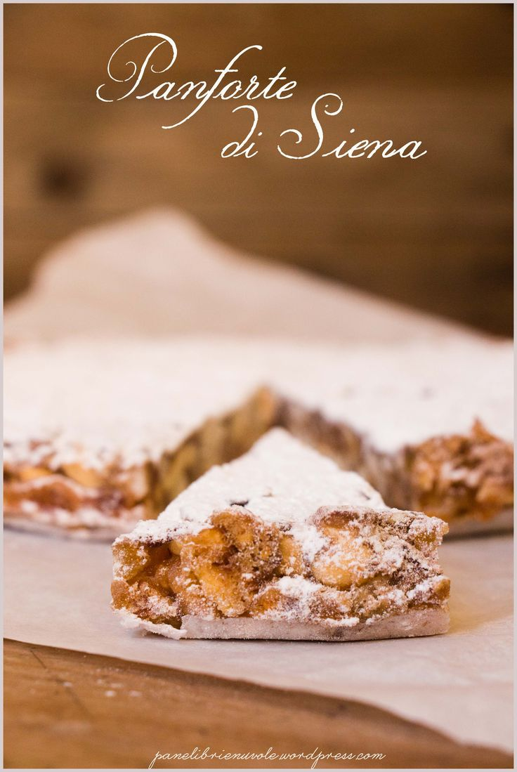 Panforte di Siena - Traditional fruit and honey cake