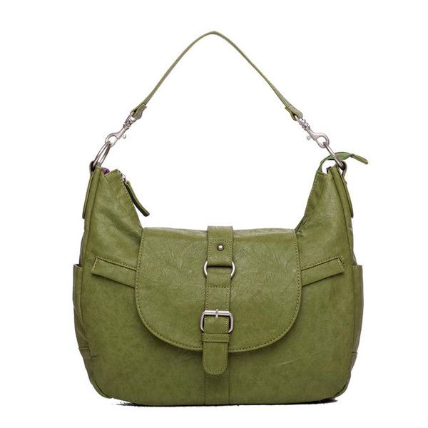 "B-Hobo (Grassy Green) $169.00. Man-made Materials. 15""x4""x9.5-10.5""H"