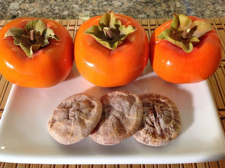 Dried Japanese Fuyu Persimmons-How To Make Dried Persimmons-Dried Fruit-...
