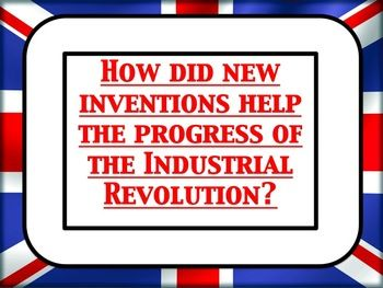 This is a fully differentiated lesson (three versions of the powerpoint with differing language) on some of the key inventions of the Industrial revolution. The students work in pairs and groups complete a balloon debate to decide which invention had the biggest positive impact on the progress of the Industrial revolution.