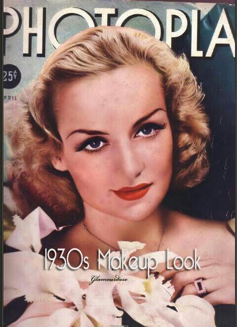 1930 Makeup Looks Carole Lombard