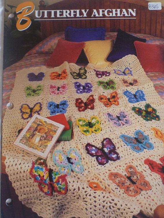 105 mejores imágenes de Crochet Afghans -- Butterflies en Pinterest ...