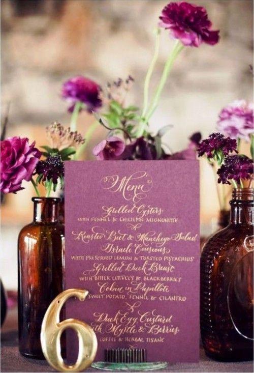 30 Trendy And Gorgeous Radiant Orchid Wedding Ideas | Weddingomania