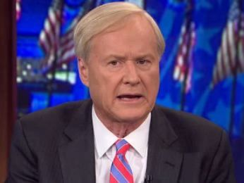 "Hmmm...Chris Matthews: ""I'm So Glad We Had That Storm Last Week"" 