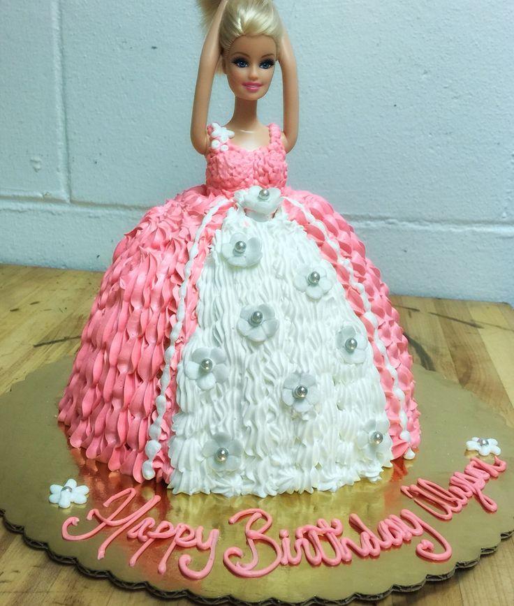 Barbie cake muellers bakery disney cakes barbie