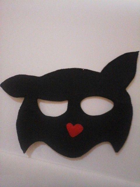Keçe silvester maske