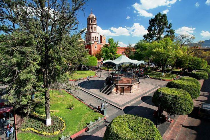 El bello jard n zenea en quer taro ciudad mexicana for Jardin zenea queretaro