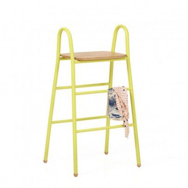 Leiter-Hocker Lucien-gelb Zitronengelb - Kinderzimmer - Mami and Me