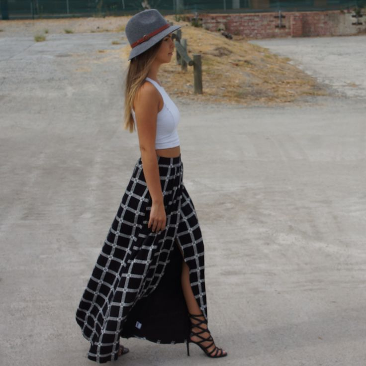 Indi Maxi Skirt | Michael Lauren