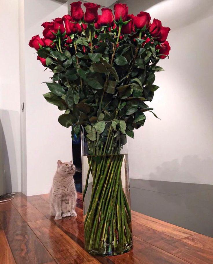 Букет длинных роз на заказ в чечне