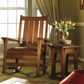 Stickley Chapel Street Rocker 89/91/837-R - craftsman - rocking chairs - new york - Stickley Furniture
