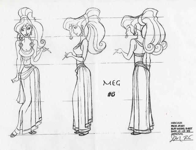 Disney Concept Art - Meg