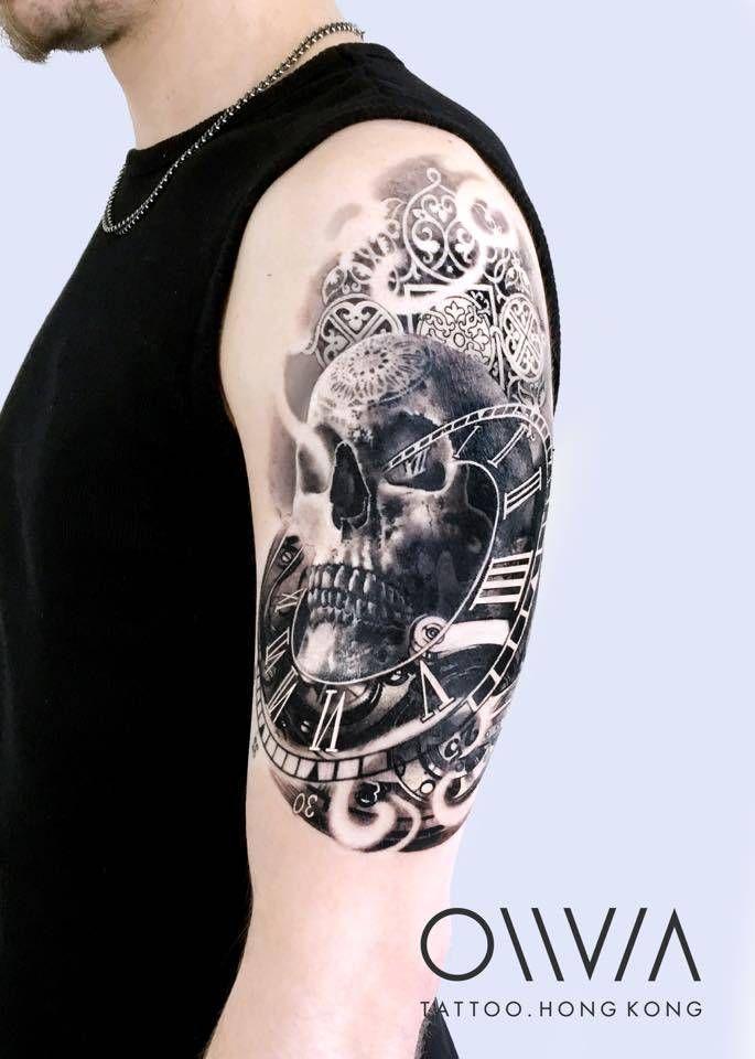 parte superior tatuado