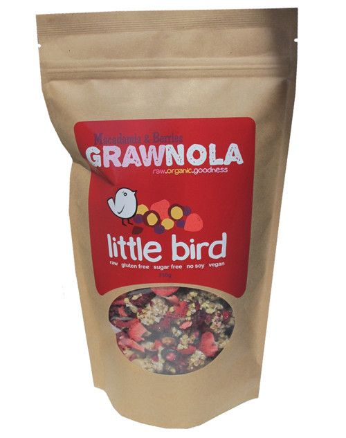 Our Grawnola and Cereal is entirely raw, organics, gluten free , dairy free…