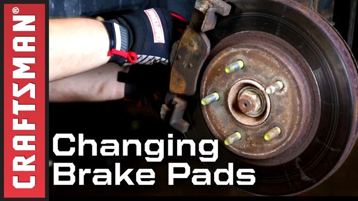 Car Maintenance: How to Change Brake Pads and Rotors | Craftsman