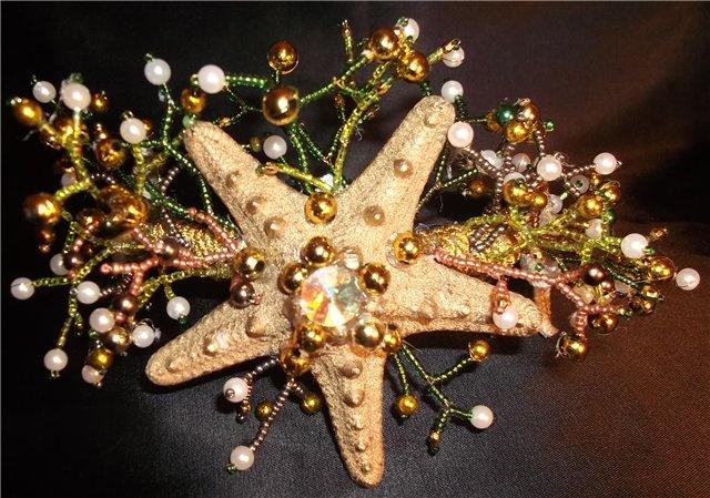 Hair Piece, Belly Dance Costumes, Wedding Tiaras, Beads, Beautiful Mermaid, Hair Accessories, Mermaid Costumes, Crafts, Mermaid Crowns