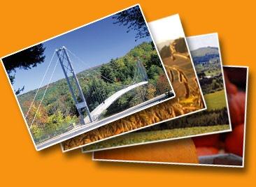 le +long pont suspendu piétonnier au monde #record #Guiness #Coaticook