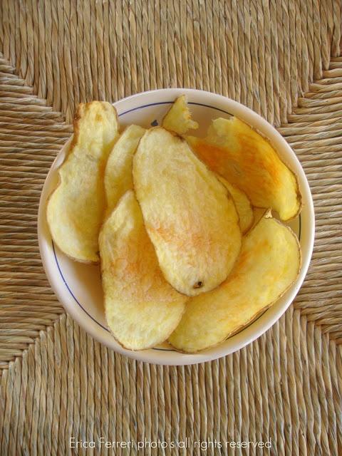 Ogni riccio un pasticcio: Patatine fritte.. al microonde: non la solita sola, sono uguali!!!!