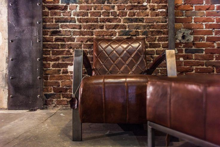10 best vintage leder sessel images on pinterest for Sessel industrial
