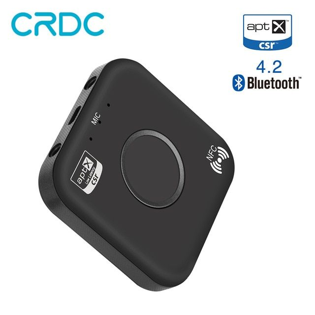 B7 Universal Bluetooth Audio Receiver Stereo AUX Sound Adapter CSR Chip APTX