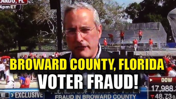 The GOP is accusing election officials of illegally opening tens of thousands of mail-in ballots in Broward County, Florida before they have been legally canvassed. The county is 2-to-1 Democratic. Fox News interviewed Florida GOP Chairman Blaise Ingoglia at a Donald Trump rally on Wednesday, who insisted the election officials were not given permission to open the ballots. He sent a warning letter to the Florida Supervisor of Elections. BREAKING: #VoterFraud by counting tens of thousands of…