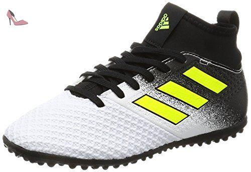 adidas Ace 17.3 TF J, Sandales pour Femme Noir Nero (Negbas/Ftwbla/Azul) 29 EU