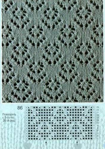 Flower Lace Knitting Stitches