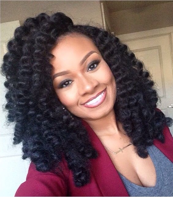 Crochet Hair Styles For Work : ... Pinterest Crochet hair, Crotchet braids and Crochet weave hairstyles