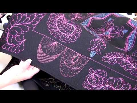 64 best longarm rulers and templates images on pinterest free handi quilter shows how to use hq swag template set find this pin and more on longarm rulers pronofoot35fo Images