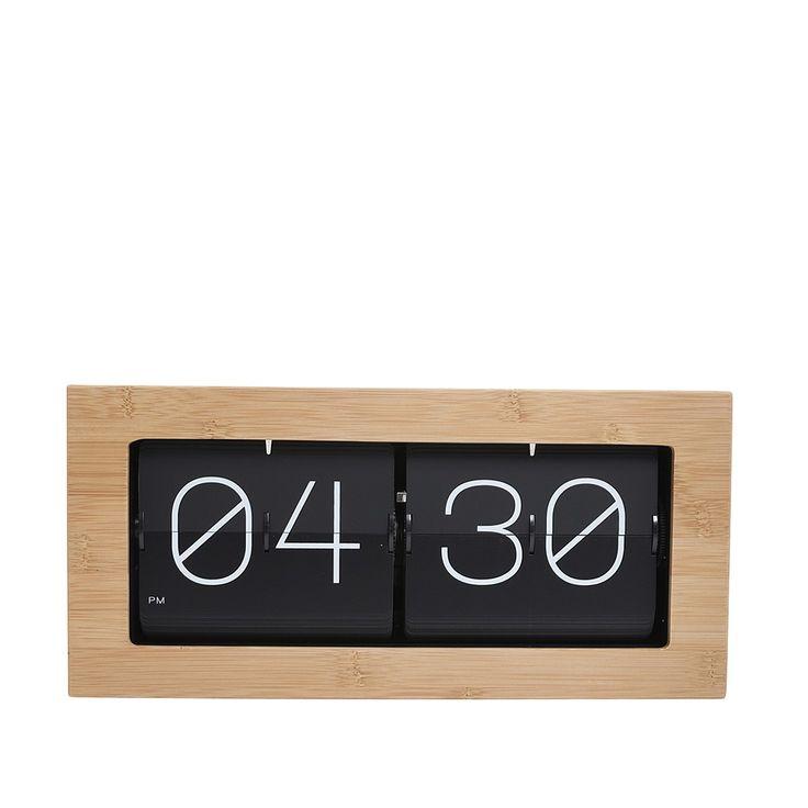 Clocks, retro flip clock - 37cm