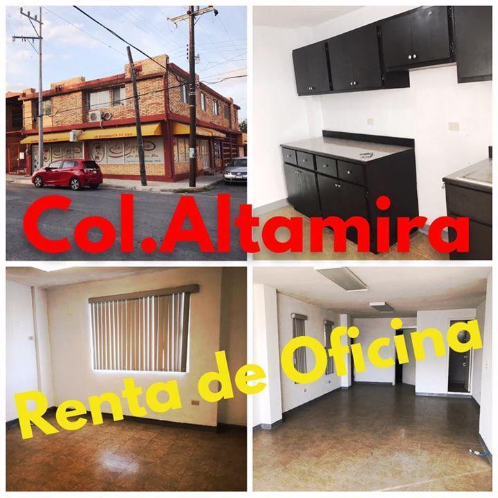 OFICINAS EN RENTA COL ALTAMIRA