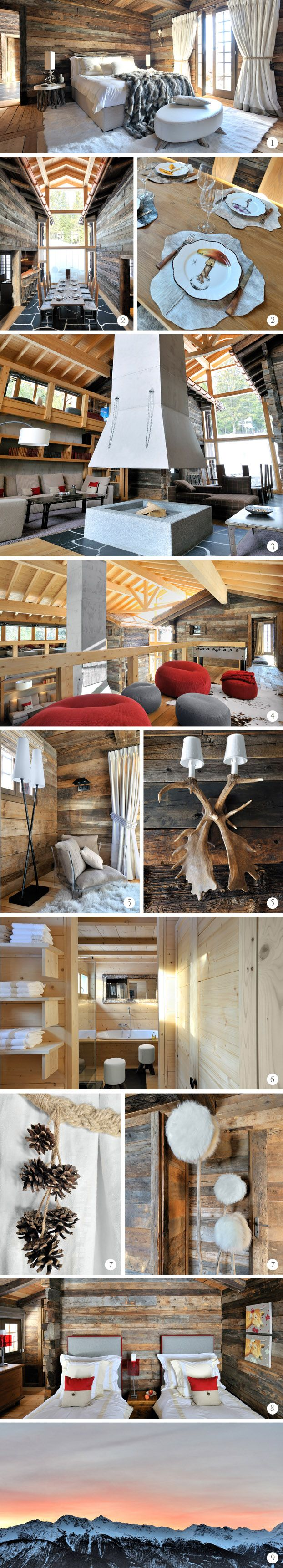 Un chalet blanc et contemporai  en Suisse, à découvrir dans notre magazine déco Westwing !