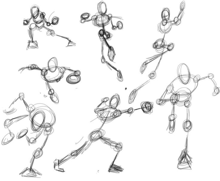 32 best Drawing: Stick Figures images on Pinterest   Stick ...