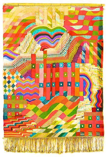 .Gunta Stolzl Bauhaus weaving