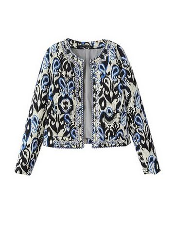 Stylish Short Style Embroidery Women Parka Coats