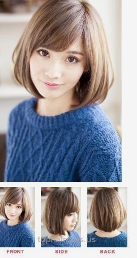 bob haircuts short best 25 chin length haircuts ideas on chin 4140 | 132e4140d25ebe90146958f065682032 oval faces hairstyles
