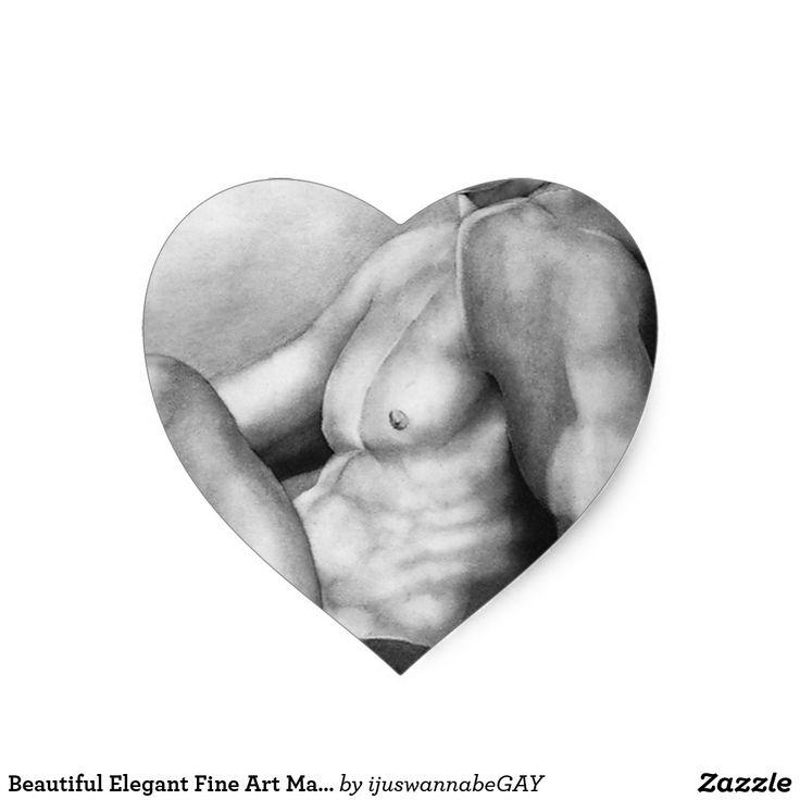 Beautiful Elegant Fine Art Male Model Body Builder