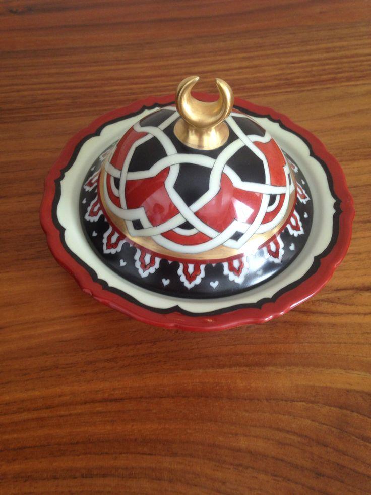 El dekoru porselen lokumluk