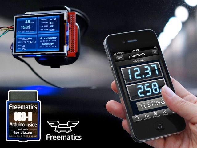 Freematics - vehicle telematics with open-source hardware by Stanley Huang — Kickstarter.  Making it possible, accessible, and affordable to carry out vehicle telematics projects with open-source hardware
