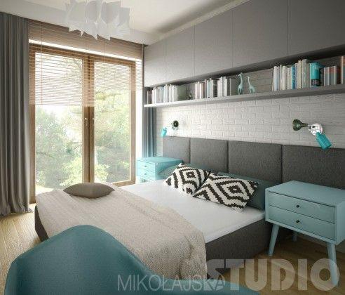 Skandynawska sypialnia | DomoArt.pl | Pomysły na urządzanie, Dekoracje i aranżacje wnętrza